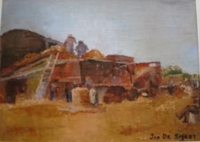 Jan De Smedt Dorsen in Lombardsijde